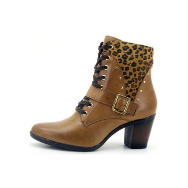 Bota Gasparini 9066 Caramelo  feminino