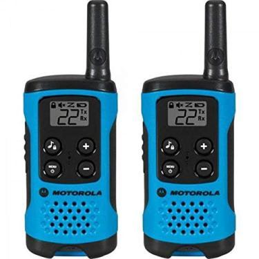 Rádio Comunicador Talkabout 25km T100BR Motorola Azul
