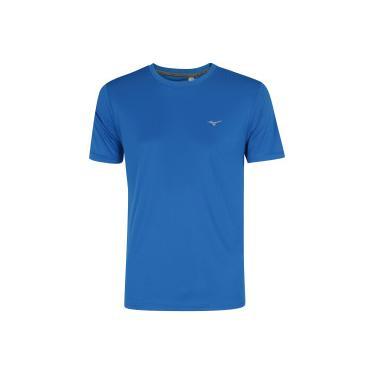Camiseta Mizuno Run Spark 2 - Masculina - AZUL CINZA CLA Mizuno a897e8ac8819e