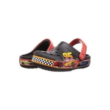 Sandália Infantil Crocs Disney and Pixar Carros - Preto