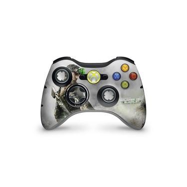 Skin Adesivo Para Xbox 360 Controle - Splinter Cell Black