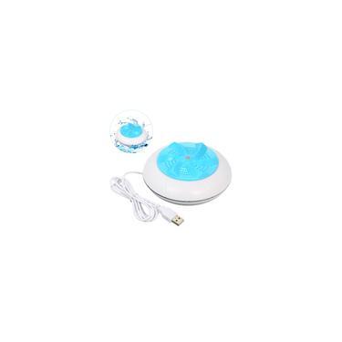 Imagem de Máquina de lavar turbina portátil 1 kg Quantidade de roupa lavada Mini lavadora giratória com cabo USB para viagem para casa viagem de negócios