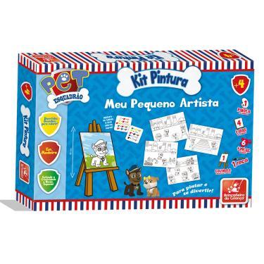 Imagem de Kit Pintura Esquadrão Pet - Brincadeira de Criança