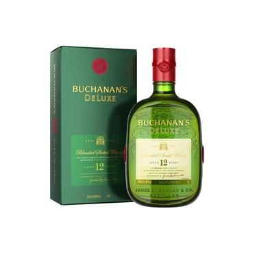 Whisky Buchanans Deluxe 12 anos 1L