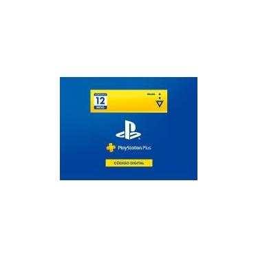 Gift Card PlaystationStore, PSN Plus 12 Meses - Código Digital