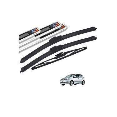 Palheta Limpador Parabrisa Volkswagen Fox 2003 a 2012 Dianteiro e Traseiro Original AutoImpact