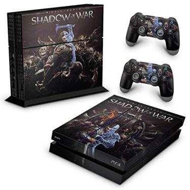 Skin Adesivo para PS4 Fat - Shadow Of War