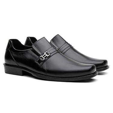 Sapato Social Vittal Masculino R250 (37, Preto)