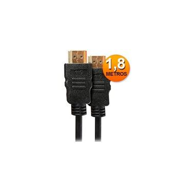 Cabo HDMI 2.0 High Speed c/ 1,8m HS1018 Elg BT 1 UN