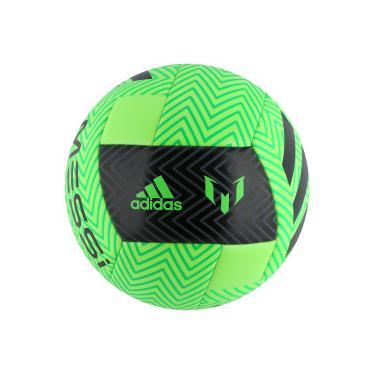 032374420c Bola de Futebol de Campo adidas Messi Q3 - VERDE CLARO PRETO adidas