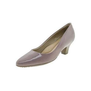 c2c8866244 Sapato Feminino Salto Baixo Roxo Piccadilly - 703001