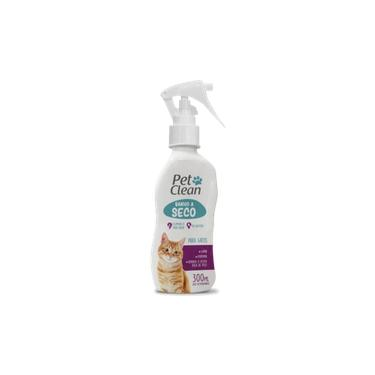 Banho A Seco Para Gatos Pet Clean Liquido 300 Ml