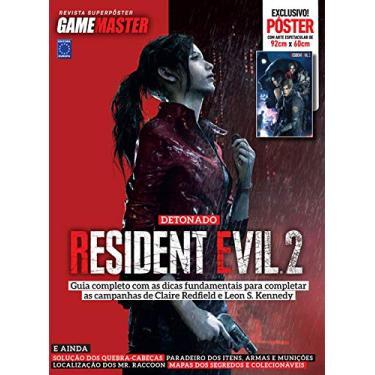 Revista Superpôster - Detonado Resident Evil 2 (Claire)