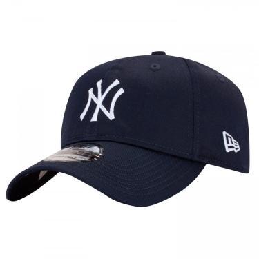 Boné Aba Curva New Era 920 New York Yankees - Strapback - Adulto New Era Unissex