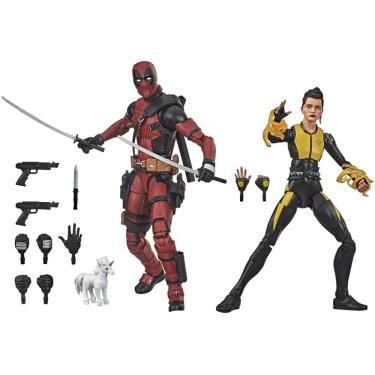 Boneco Deadpool E Negasonic Marvel Legends Series Hasbro