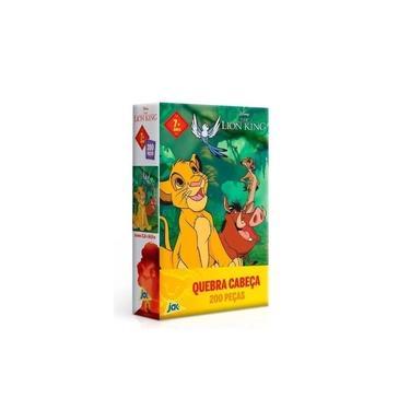 Imagem de Quebra-cabeça O Rei Leão 200 Peças - Toyster Brinquedos