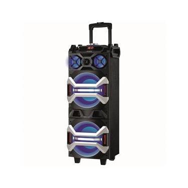 Caixa Amplificada Mondial Power CM-07 com Microfone, Bluetooth, Entrada USB e Rádio FM - 300W