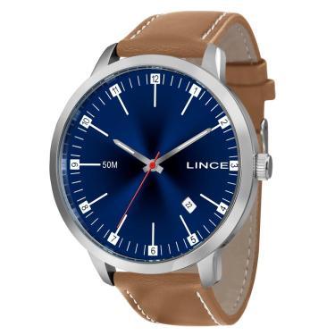 f1b16b97435 Relógio Masculino Lince Analógico MRC4349S-D2NB - Prata
