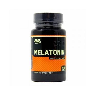 Melatonina ON 3mg 100 Cápsulas - Optimum Nutrition Optimum Nutrition