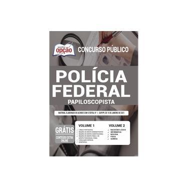 Imagem de Apostila Polícia Federal (PF) 2021 - Papiloscopista