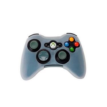 Capa Silicone P/ Controle Xbox 360 Branco