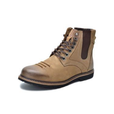 Bota Sandalo Lord Kaki  masculino