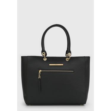 Bolsa Santa Lolla Tote Shopper Preta Santa Lolla 0459.2A8B.0088.0001 feminino