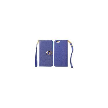Carteira Eye Cash Card Titular da águia caso capa com iPhone Para Strap 6 S Plus