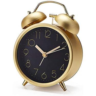 Imagem de Despertador Despertador Fofo Metal Despertador Criativo Mudo Moda Digital Aluno Despertador Simples