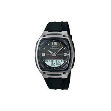 a8fe34edae0 Relógio Masculino Anadigi Casio Aw-81-1A1VDF - Preto