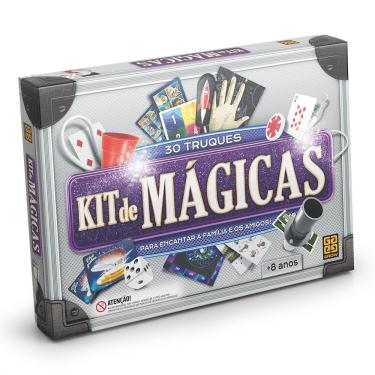 Brinquedo Infantil Kit De Mágicas - Grow