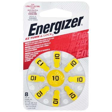 Bateria para Aparelho Auditivo AZ 10 Energizer 8 Unidades 1031866