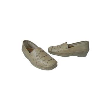 Sapato Ortopédico Confort Plus – Feminino – Marfim - Ref.: 296