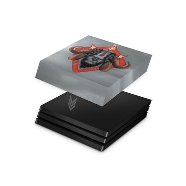 Capa Anti Poeira para PS4 Pro - God of War 4