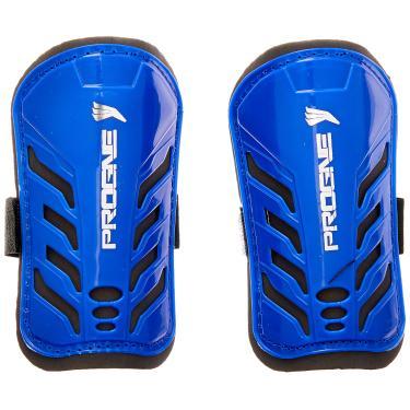 PROGNE SPORTS REF 001 Caneleira de Proteção para Futebol, U, Azul