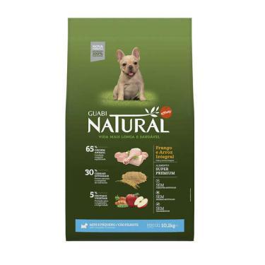 Ração Affinity Guabi Natural Frango e Arroz Integral para Cães Filhotes Raças Mini e Pequena - 10,1 Kg