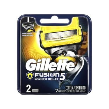 Lâmina de Barbear Gillette Fusion - Proshield 2 Unidades