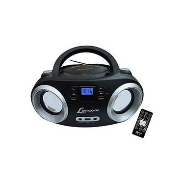 Rádio Lenoxx BD1360 CD Player FM Estéreo MP3 USB e Bluetooth - Preto