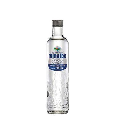 Água Mineral Minalba Premium Sem Gás Vidro 300ml