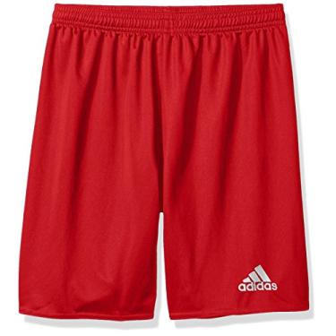 Shorts Adidas Youth Parma 16, Power Red/White, Large