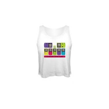 Camiseta Cropped Game Boy Color