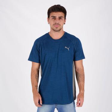 Camiseta Puma Power Vent Marinho - G