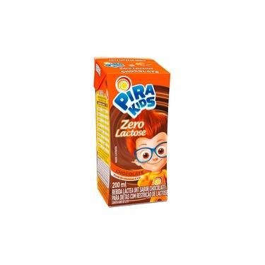 Bebida Láctea Pirakids Chocolate Zero Lactose 200ml