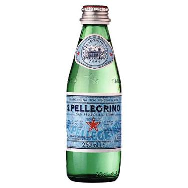 Água Mineral San Pellegrino Com Gás 250 ml Vidro