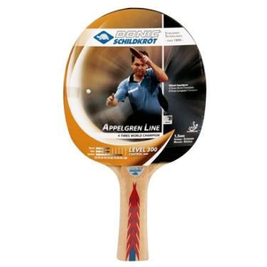 ccae9a502ad6a Raquete De Tênis De Mesa Appelgren 300 Donic - Unissex