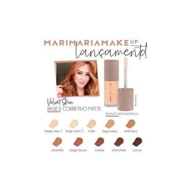 Imagem de Base E Corretivo Matte Velvet Mari Maria Make Up Maquiagem