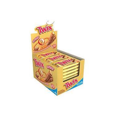 Twix® Caramelo 45g - Embalagem c/ 18 unidades - Mars