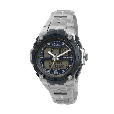d33fa309385 Relógio Condor Masculino Anadigi COAD0912 3P - Prata COAD0912 3P