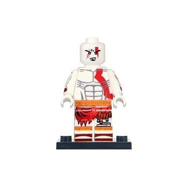 Lego Kratos God Of War Boneco Blocos Montar - Minifigura De Montar