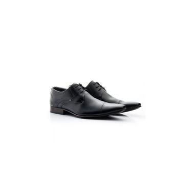 Sapato Social Masculino Bigioni Couro Preto 377